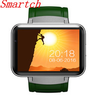 Smartch 2017 New 3g GPS Wifi Bluetooth Watch Smart Watch DM98 Supports SIM Card Reminder Calls for Android/IOS phone pk kw88