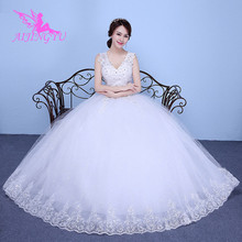 AIJINGYU 2021 white new hot selling cheap ball gown lace up back formal bride dresses wedding dress WK149