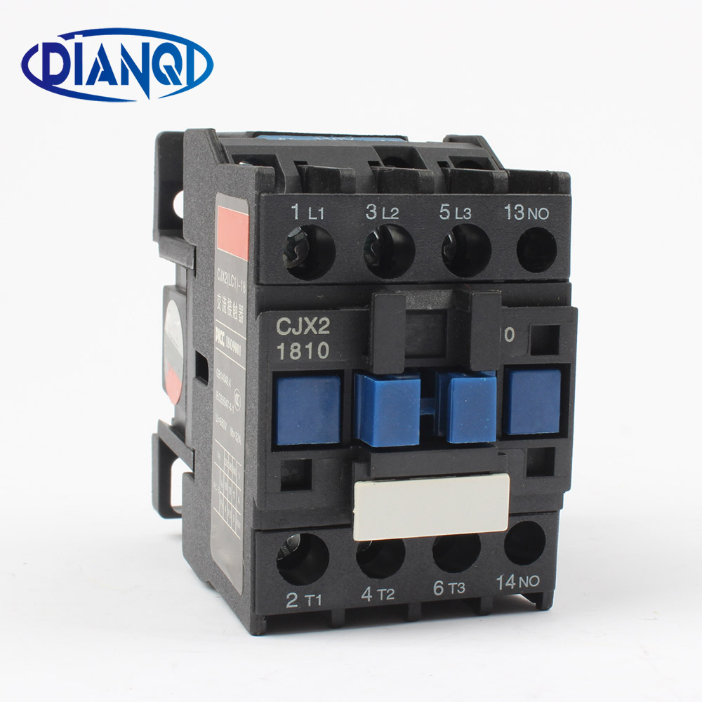 цена на Motor Starter Relay contactor CJX2 1810 AC 24V 36V 48V 110V 220V 380V Voltage optional LC1 D lc1 1810 220v