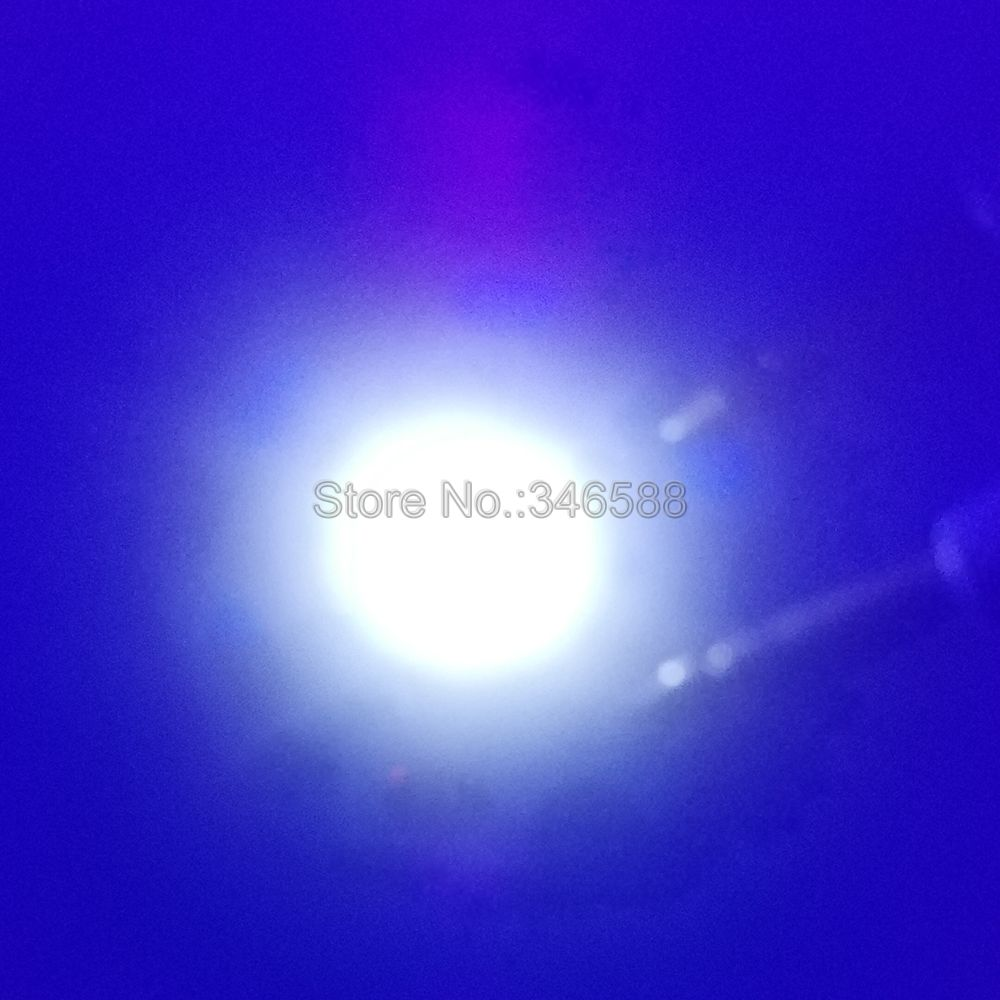 10 sztuk 3 w 380nm nm nm ultrafioletowe uv 395nm 3535 everlight