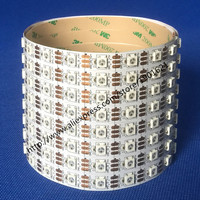 5M LED Strip Light White PCB 60led/m WS2812B WS2812 Individually Addressable SMD5050 Dream Color Pixel No Waterproof DC5V
