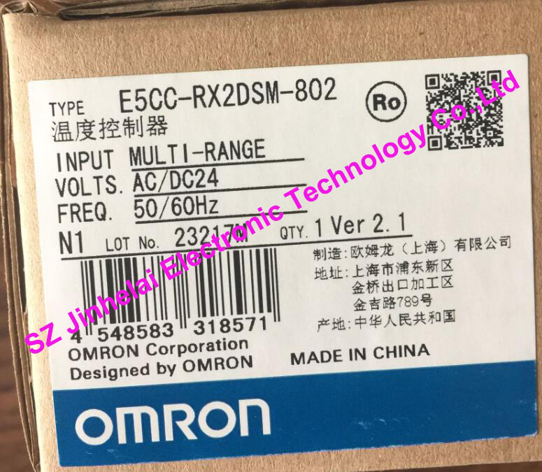 цена на 100% New and original E5CC-RX2DSM-802 OMRON Digital Controller AC/DC24