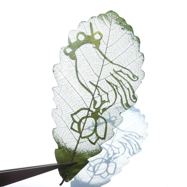 Leaf Carving Painting Bookmarks For Books Korean Stationary Piano Guitar Chinese Gift Gifts Wedding Favors Reading