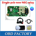 Quality A++ Single pcb with NEW NEC Japan relay 2015.1 version free active tcs cdp pro plus new vci cdp pro with bluetooth