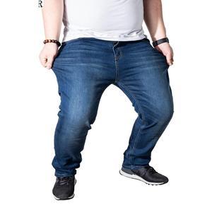 Image 4 - Erkek kot pantolon streç büyük boy büyük boy 6XL 7XL 8XL 9XL sonbahar klasik günlük kot ev 44 46 48 elastik