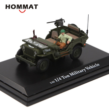 Hommate 1/43 1/4 тонн военный автомобиль Willys Jeep MB модель автомобиля сплав моделирование литые игрушечные машинки 1:43 модель автомобиля подарок автомобили