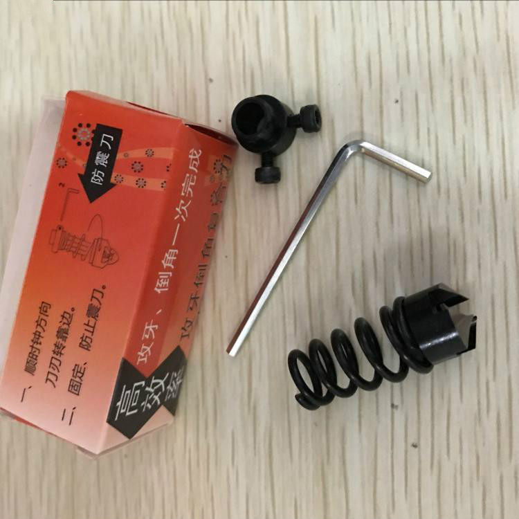 High efficiency without burr tip tap tap tapping and chamfering compound composite chamfering device driver M2M3M4 68 high quality wire tapping tap wrench 181012412520