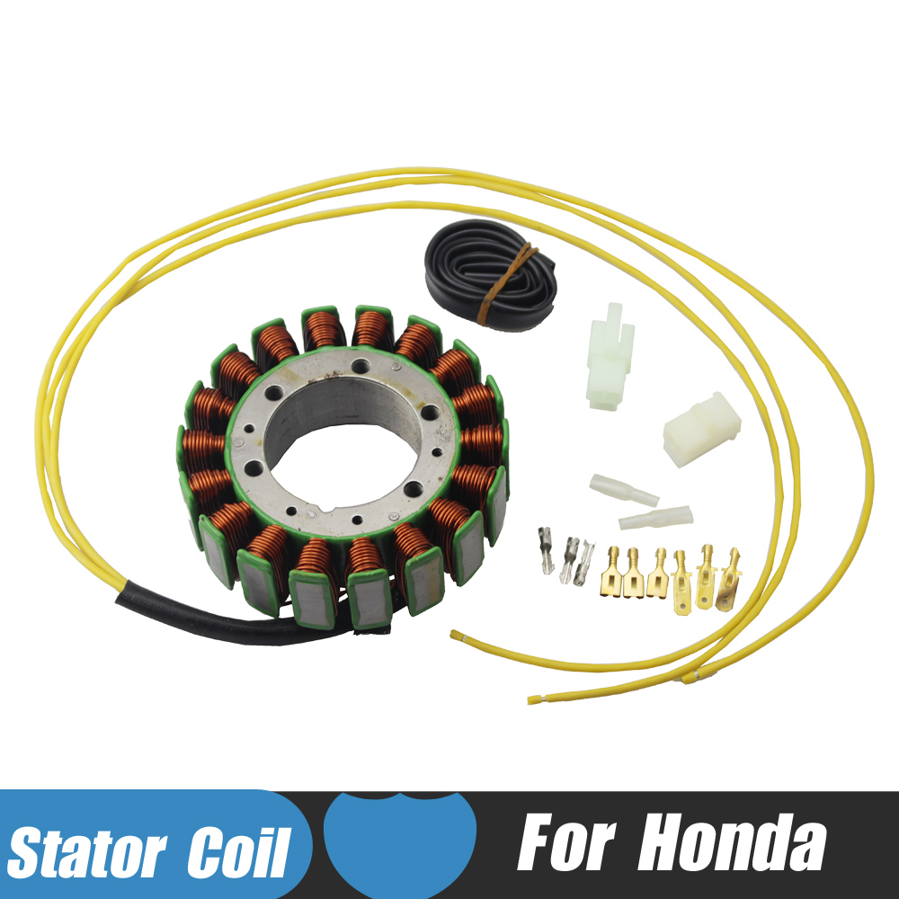 Motorcycle Magneto Stator Coil for Honda VT1100C Shadow 1100 VT1100 C2 Sabre VT700 C Shadow VT750 DC Spirit CX650 NT650 Hawk GT motorcycle gas fuel pump unit assembly for honda cbr400 nc23 nc29 vt600 vt700 shadow 400