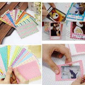 Image 5 - Fujifilm Instax Mini Film Weiß 10 20 40 60 80 100 Blätter Für FUJI Instant Photo Kamera Mini 9 Mini 11 8 7s 70 + Kostenloser Aufkleber