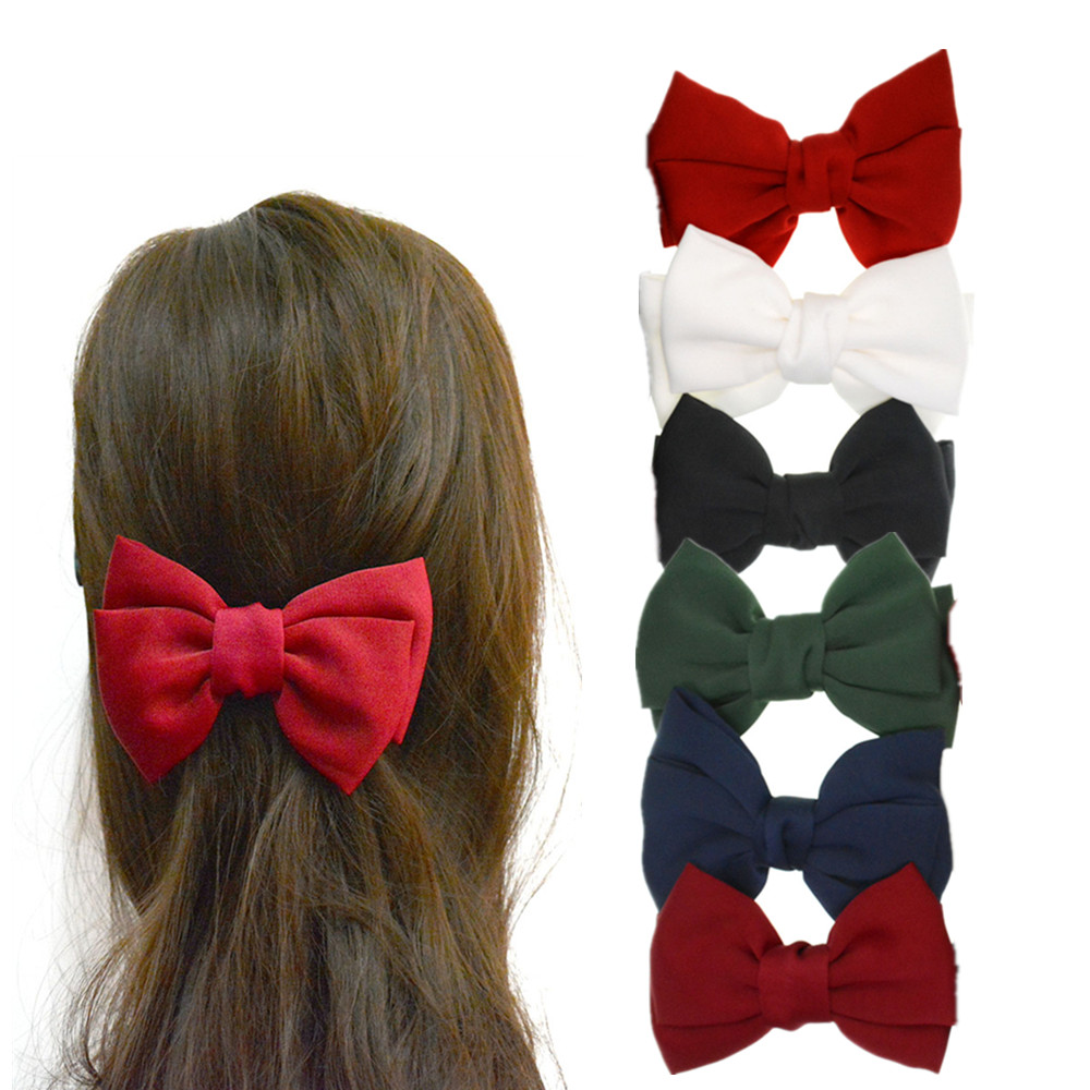 1 pc handmade fabric large bow