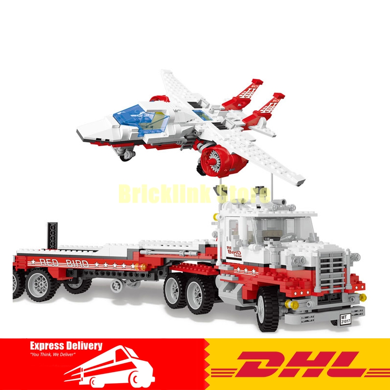Lepin 21017 1206Pcs Genuine Model Series The Mach II Red Bird Rig Set Children Educational Building Blocks Bricks Toys Gift 559 compatible legoe genuine model series 5591 lepin 21017 1206pcs mach ii red bird rig building blocks bricks toys for children