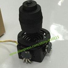 JH D400X R2 4 eixo potenciômetro joystick 400 série rocker hall manche dimensional resistência 5 k selado com botão joystick