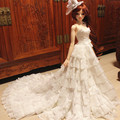 65 cm BJD doll clothing lace wedding dress - sd10  sd16 msd