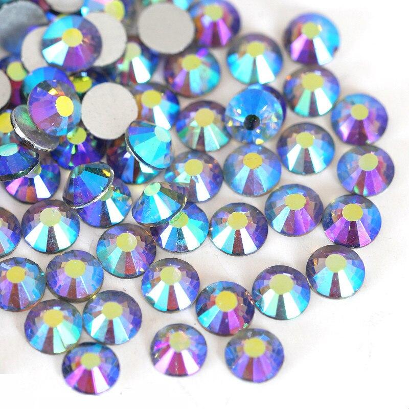 2028 SS3 SS30 Black Diamond AB Nail Rhinestone Non Hotfix Rhinestone SS16  SS20 Glass Crystal Stone for Nail Art Decoration B3452-in Rhinestones from  Home ... d2488b80f75a