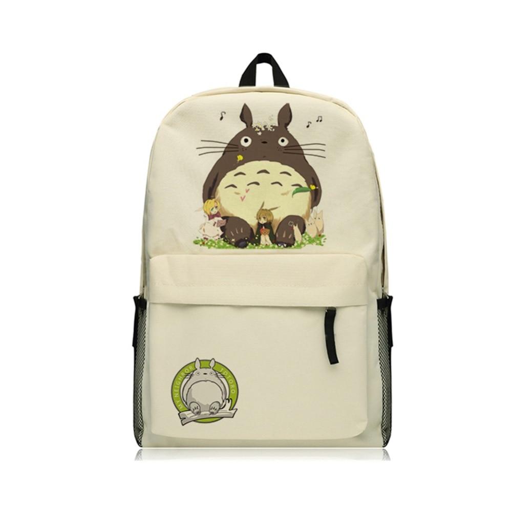 Zshop Kids Book Bag Cute Totoro Backpack Children Kawaii Students Schoolbag Boys and Girls Mochila Backpacks Gifts