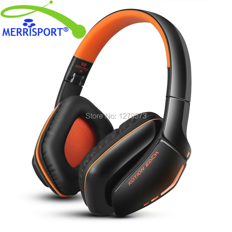 MERRISPORT Wireless Gaming Headsets, V4.1 Foldable Bluetooth Headsets Wireless Headphones with Microphone for PlayStation iphone