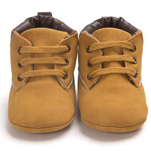 Baby Sneakers Baby Boys Boots Shoes Infant Newborn Bebe Moccasins Soft Moccs Shoes First Walkers Classic Casual Warm Booties(China)