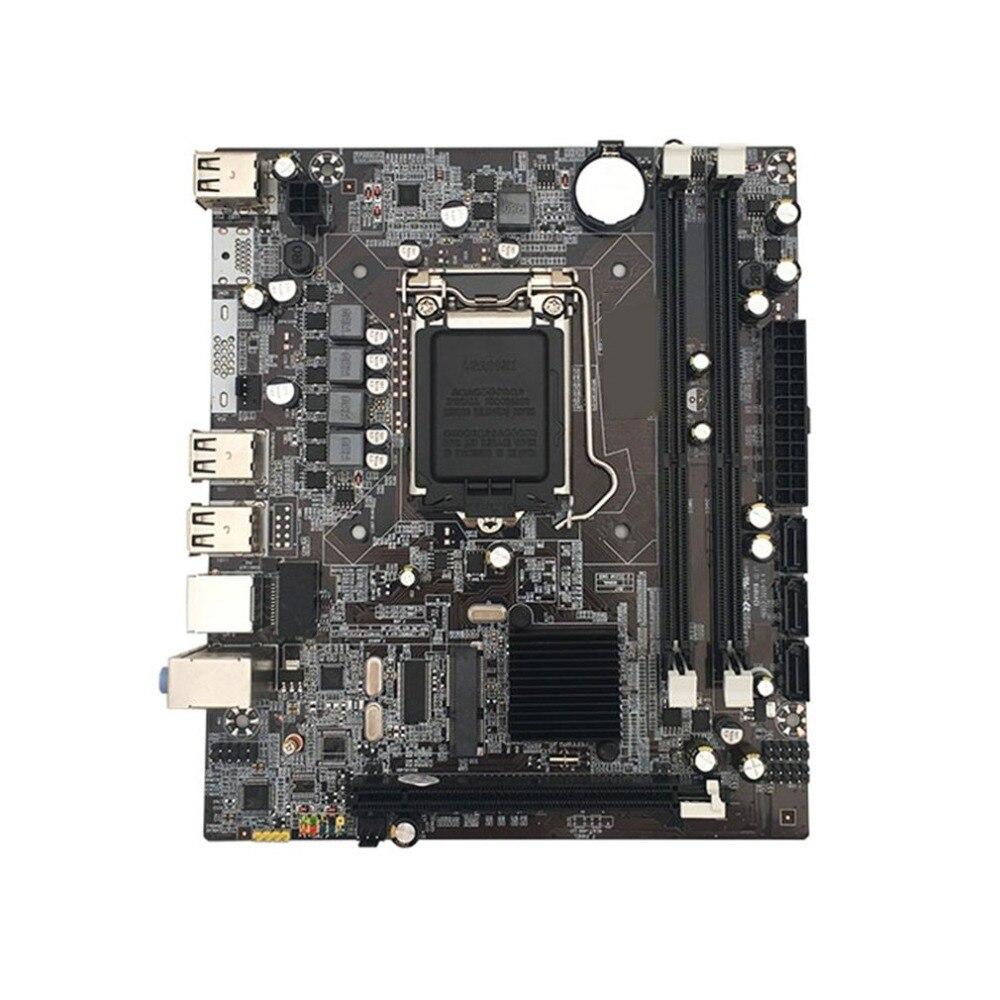 2019 Neuestes Design Motherboard Intel P55 Lga1156 Buchse H Chipsatz Ddr3 Computer Desktop 1156 Motherboard Intel P55 Motherboard Mit Usb I/o Schild Herausragende Eigenschaften