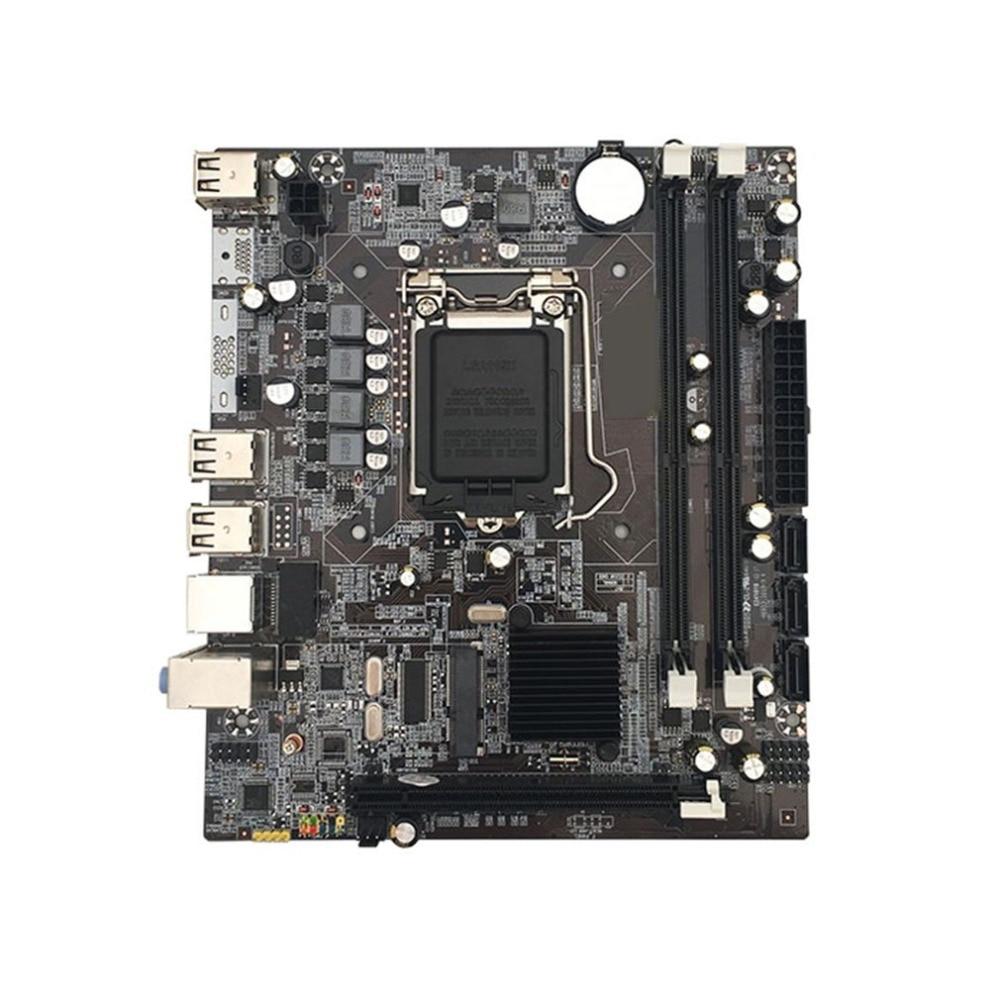 Motherboard Intel P55 LGA1156 Tomada H P55 DDR3 Desktop Do Computador 1156 Motherboard Intel Motherboard Chipset Com USB I/O escudo