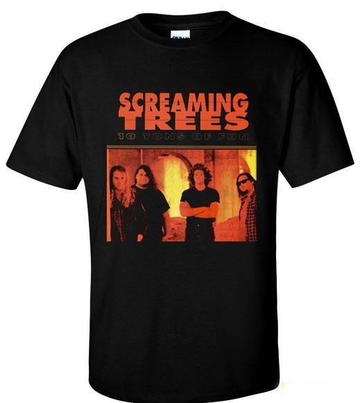 SCREAMING TREES 10 TONS OF FUN GRUNGE MAD SEASON KYUSS T-SHIRT S M L XL 2XL 3XL ...