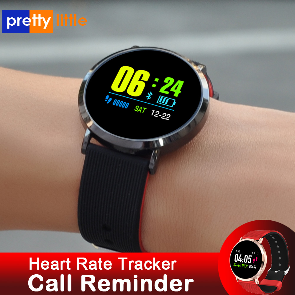 Relógio inteligente das mulheres dos homens android x88 à prova dwaterproof água pressão arterial smartwatch rastreador de freqüência cardíaca fitness esportes inteligentes relógio