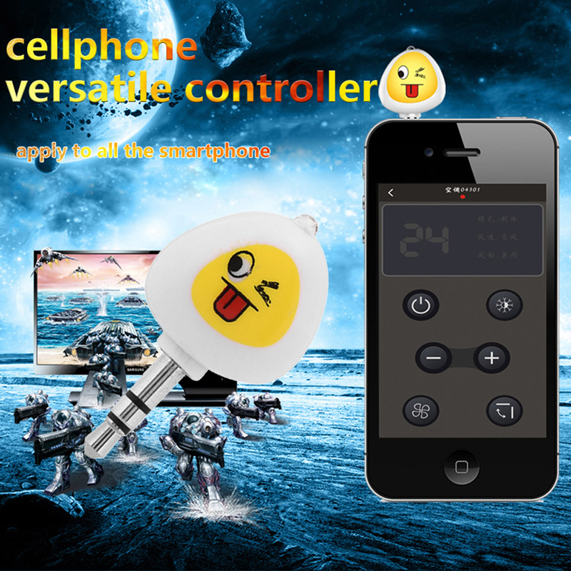 2019 new 3.5mm Infrared IR Remote Control DVD TV Appliances For iphone Android Smartphone