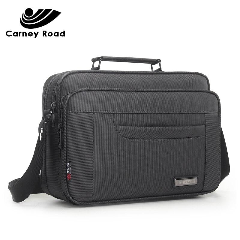 Waterproof Oxford Business Men's Shoulder Bag Handbag For 9.7 Inch Ipad High Quality Casual Messenger Bag Men Crossbody Bag