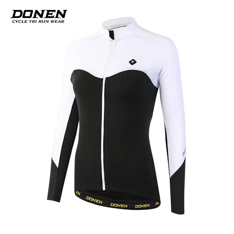 DONEN Women s Long Sleeves cycling jersey ropa ciclismo hombre mtb bike maillot mountain bike Women