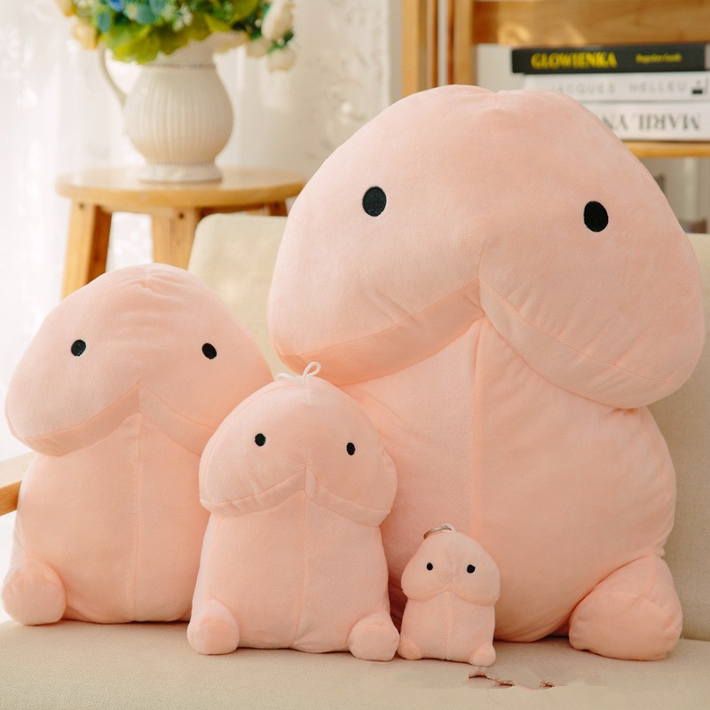 Popular Spoofing Creative Cute Stuffed Toy Dingding Pillow To Give A Girlfriend To Give Vent To Pinching Toys.