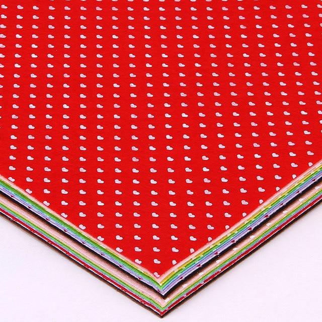 Herz gedruckt fühlte vlies stoff 30x30 cm polyester tuch nähen ...