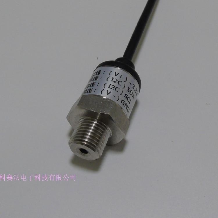 Internet Of Things Pressure Sensor Low Power 3.3V Power Supply I2C Communication Pressure Sensor 0-1MPA Sensor