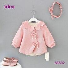Baby girl clothes winter hoodies coat  vestidos kids vestido infantil hoodie ropa bebek de mujer girls pink