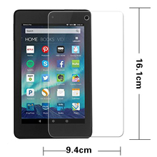 "Greatest Anti-shatter tempered glass movie For Amazon Kindle Fireplace HD 6 HD6 6.zero"" pill LCD Display Protector Movie HD protecting movies"