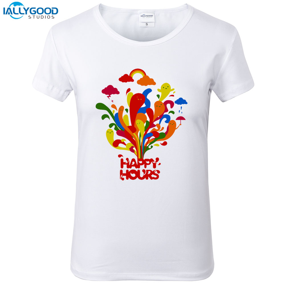 Buy rainbow t shirt colour and get free shipping on AliExpress.com 773607a5fa6c