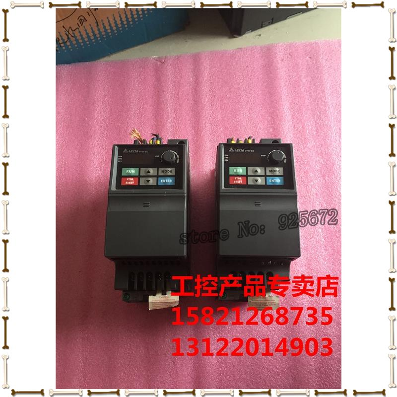 Dans onduleur VFD-EL série VFD015EL43A 380 v 1.5 W a bon test paquet! DHL 5-7 jours, garanti rapide