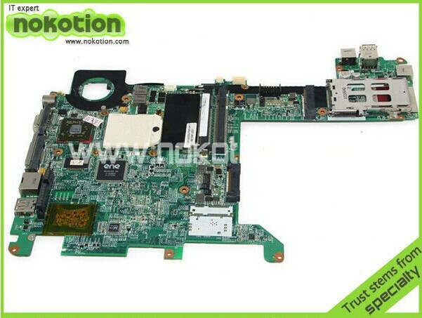 NOKOTION 441097-001 Laptop motherboard For Hp TX1000 TX1200 DDR2 Update NF-G6150-N-A2 441097 001 for notebook pc tx1000 for hp tx1000 tx1200 tx1400 laptop motherboard ddr2 good quanlity tested