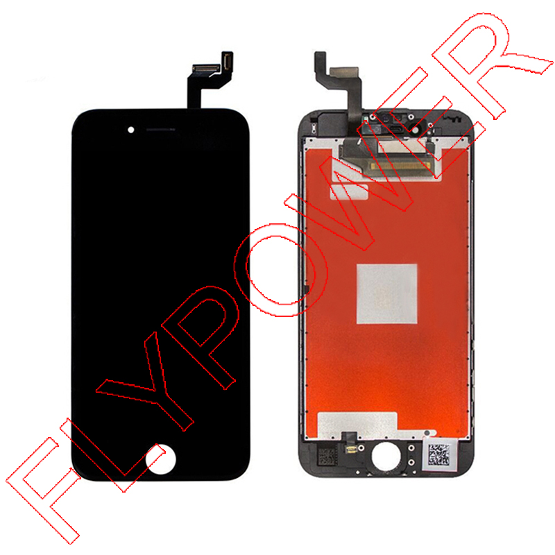 ФОТО 100% Warranty for iPhone 6S 4.7'' LCD Display Screen With Black Touch Screen Panel Digitizer Assembly Free Shipping