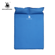 цены Camping Tent Sleeping Mat Automatically Inflatable Cushion Pad Single Air Mattress Damp-proof Double Mattress Camping Pad Pillow