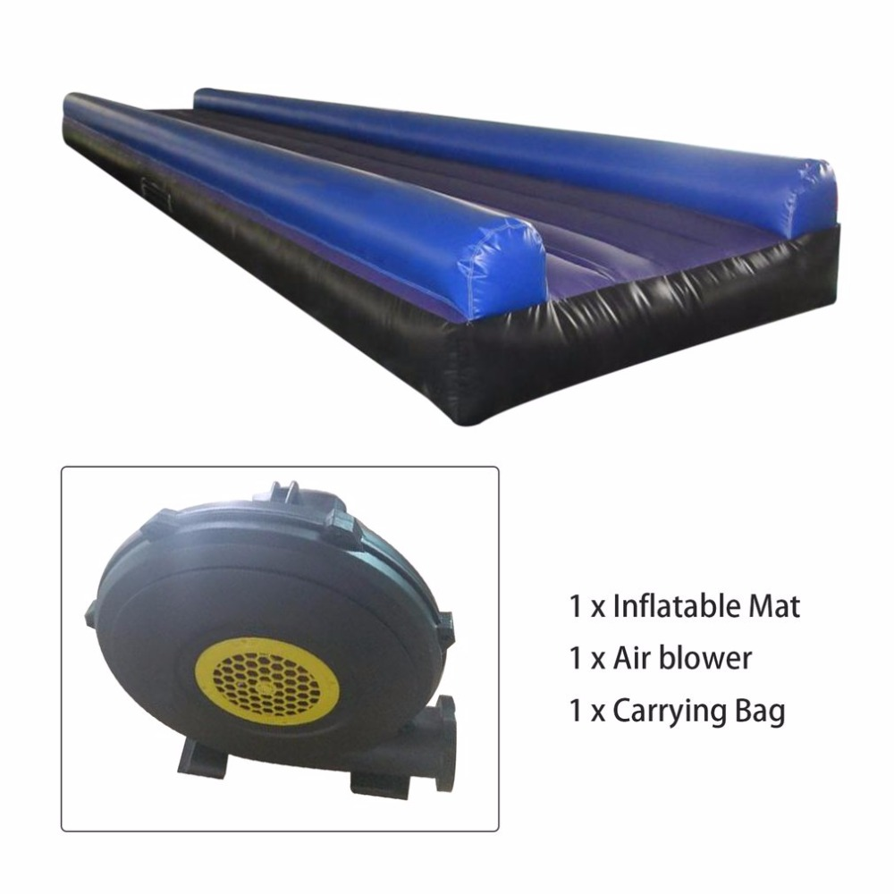9M*2M Large Size Portable Size Waterproof PVC Inflatable Air Tumbling Track UV Resistant Gym Yoga Gymnastics Tumbling Mat r001 crazy price pvc 5 5m long inflatable air tight arch