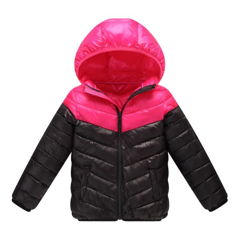 Children Down Jacket frivolous Warm Winter Kids Outerwear baby boys hooded jacket coat for child Clothing South Korean brands