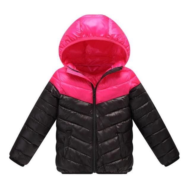 e3309bc41 Children Down Jacket frivolous Warm Winter Kids Outerwear baby boys ...