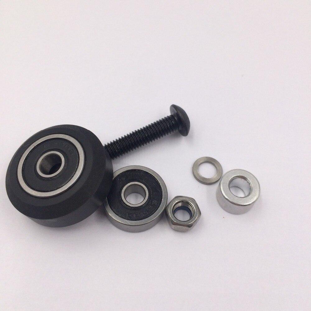 Solide v roue kit pour v-slot (23.89*10.23mm) Livraison gratuite