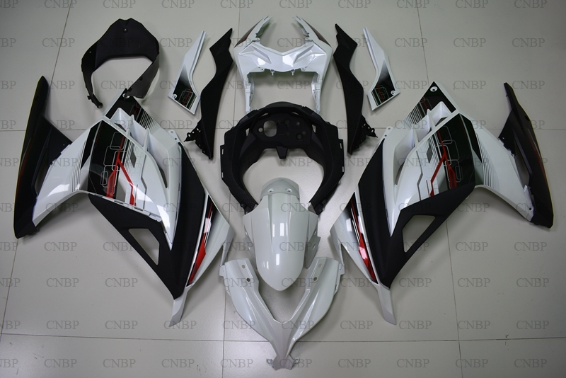 EX300 14 15 Bodywork EX 300 Ninja 2013 2015 White Black Abs Fairing for Kawasaki Zx300r