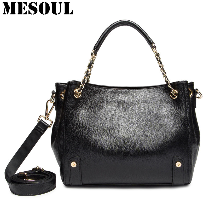 Women Leather Handbags Genuine Leather Bags Ladies Crossbody Shoulder Bags Designer High Quality New Arrival Female Tote Bag zency new women genuine leather shoulder bag female long strap crossbody messenger tote bags handbags ladies satchel for girls