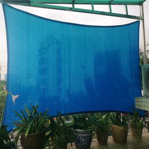 4 x 7 M/pcs Rectangle Sun Shade Sail 95% shading UV protection HDPE Net for residential courtyard garden awning