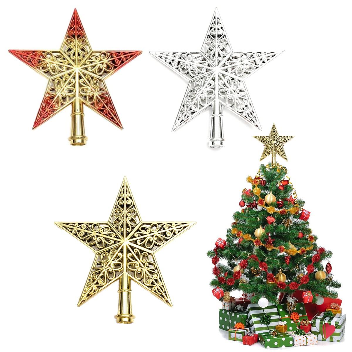 Best Promotion Lovely Shiny Decorative Christmas Star Tree Topper For Table  Top Ornament