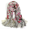 Pashminas 2015,lace flower print,floral hijab,wool lace scarf,bandana,cashmere,shawls and scarves,cape,pashmina scarf,poncho