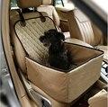 2 в 1 Функциональная Deluxe Single Pet Автокресло Питомник крышка водонепроницаемый Pet Сиденья Ремень Безопасности Защитник Животных перевозчик