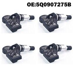 4 PCS Auto Sensore di Monitoraggio Della Pressione Dei Pneumatici TPMS 5Q0907275B per skoda per VW golf 7 MK 7 per audi SQ 5 SQ 7 2017 TT RS A8 A7