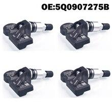 4 pçs sensor de monitor pressão dos pneus do carro tpms 5q0907275b para skoda para vw golf 7 mk 7 para audi sq 5 sq 7 2017 tt rs a8 a7